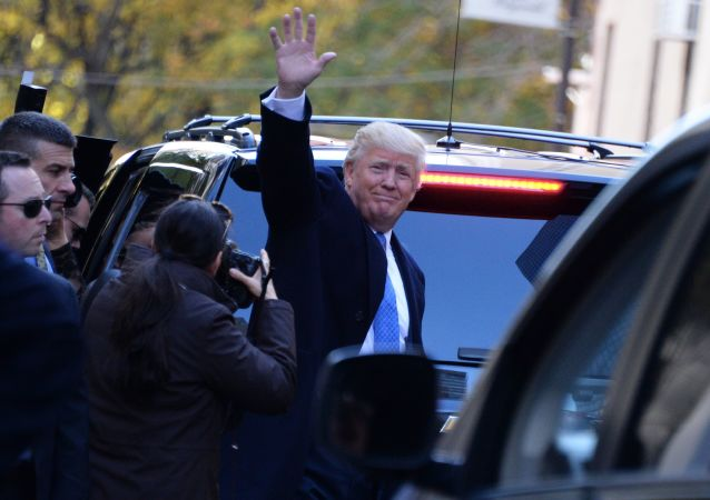 媒体:特朗普在纽约会见英国独立党领袖法拉奇