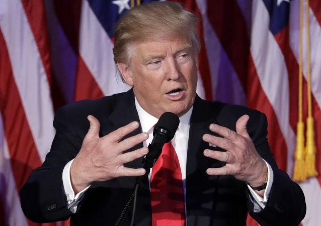 特朗普表示就职典礼后愿意与俄总统举行会晤