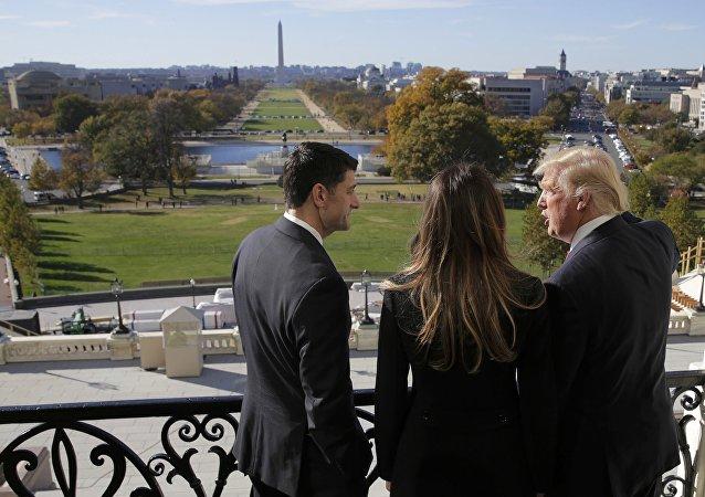 媒体:特朗普团队未证实关于他欲准许子女获得国家机密的报道