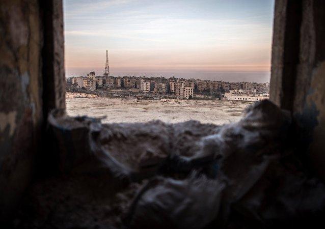 消息人士:武装分子轰炸阿勒颇居民区 4名公民丧生
