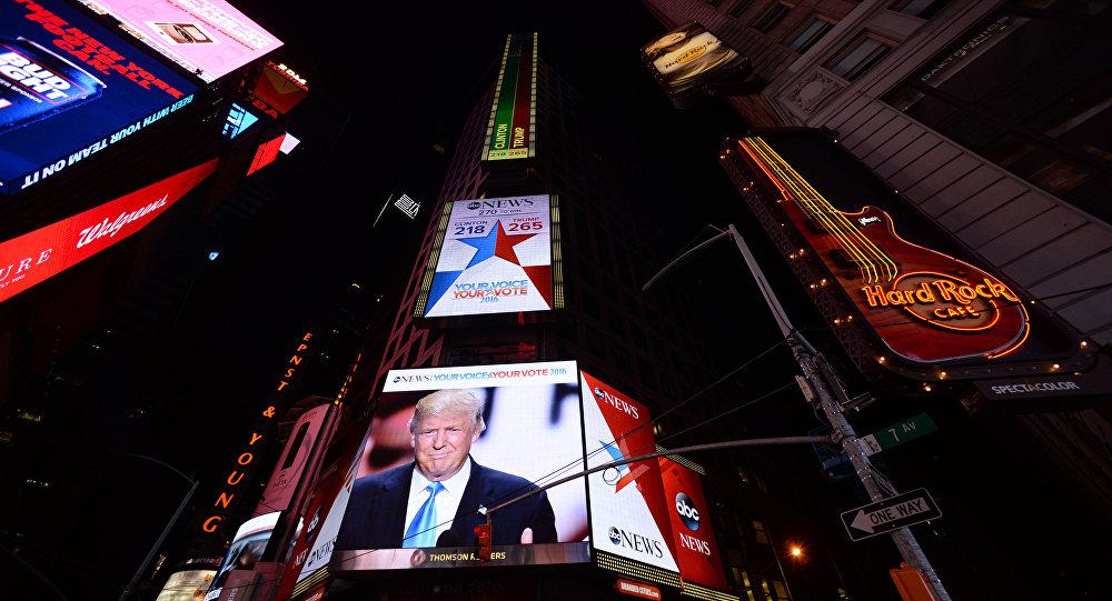 普什科夫:北约因特朗普当选美国总统笼罩在恐慌之下