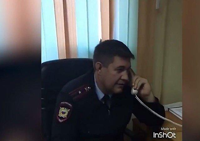 俄符拉迪沃斯托克警察