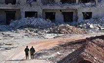 叙政府军在平民撤离东阿勒颇期间暂停进攻