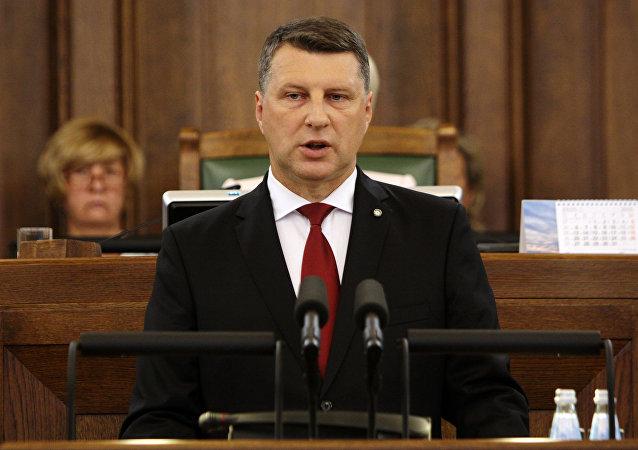 拉脱维亚总统承认该国没有自己的经济