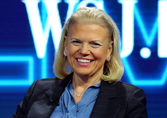 IBM首席执行官弗吉尼亚•罗曼
