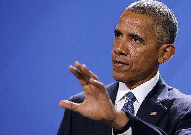 奥巴马抵达利马出席APEC峰会或与俄总统会晤