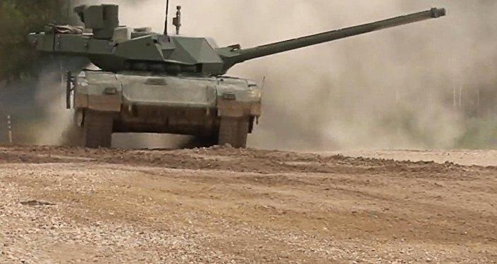 """媒体:""""阿玛塔""""战车将装备无人侦察机"""