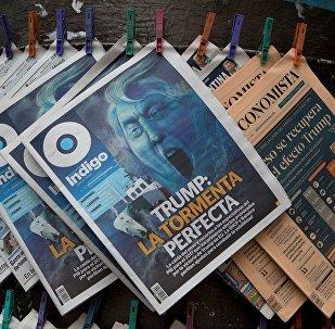 专家:美国媒体对特朗普的负面报导反助其赢得总统选举