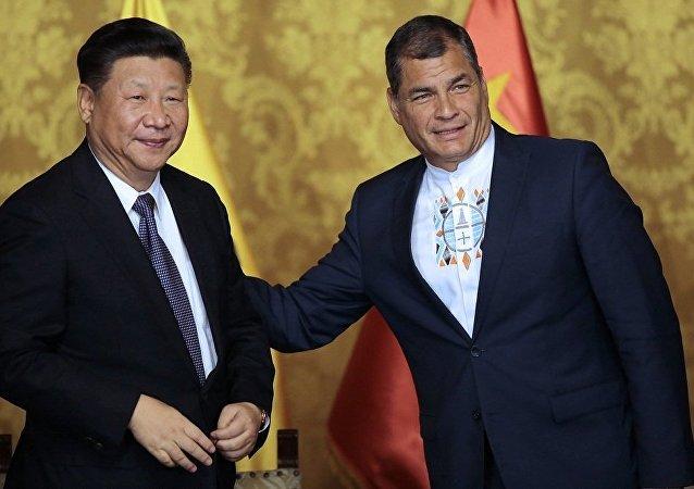 中国与厄瓜多尔建立全面战略伙伴关系