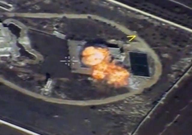俄国防部:俄空天军一周摧毁叙利亚900多个恐怖分子设施