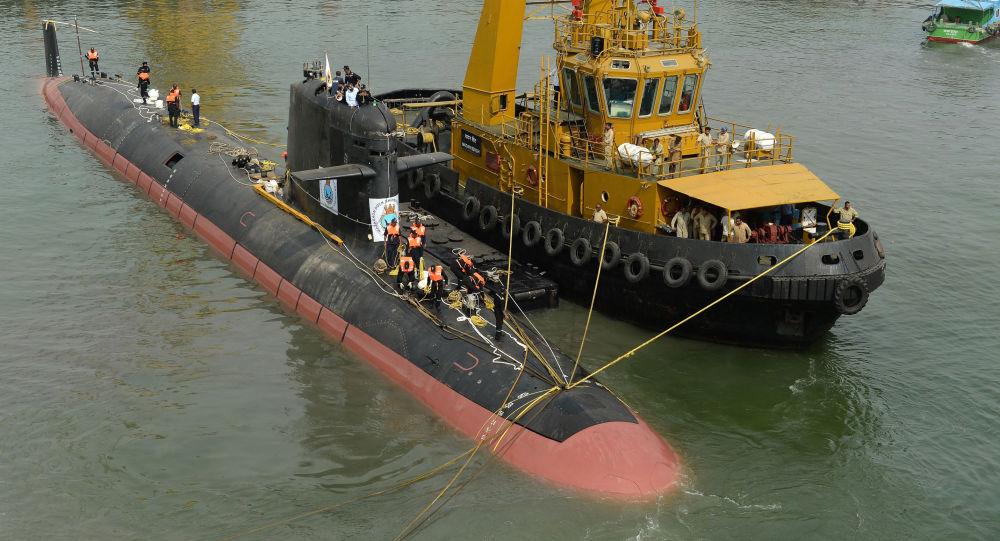 媒体:印度拟部署高功能潜艇
