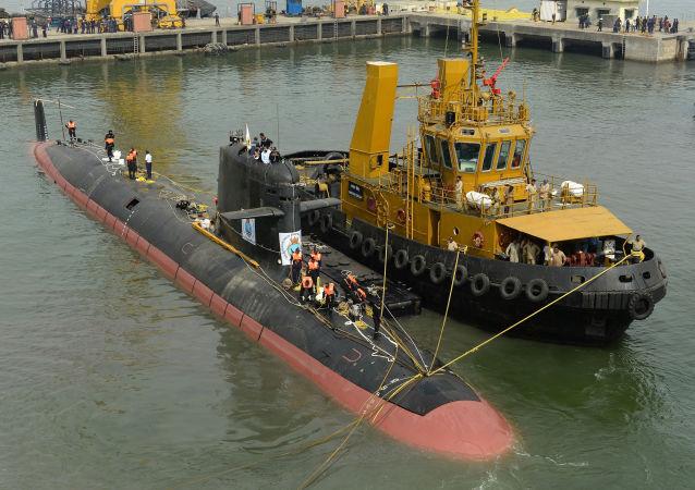 印度潜艇/资料图片/