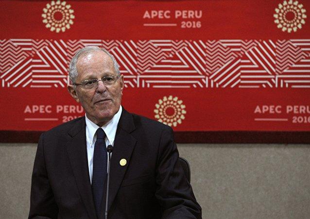 秘鲁总统:期待发展同俄关系