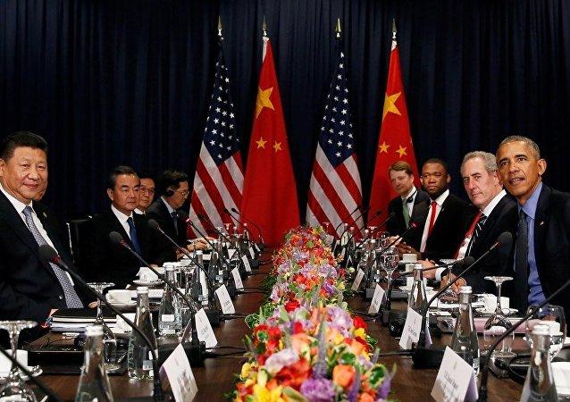 美国总统奥巴马表示,美中两国将加强在解决朝核问题方面的努力