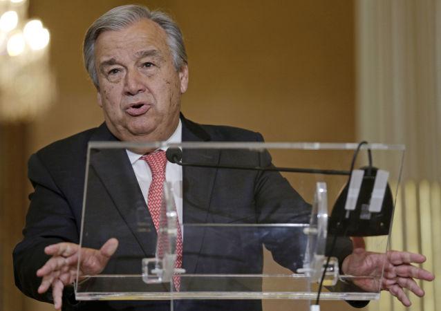 联合国秘书长表示2名驻刚果特派团人员死亡