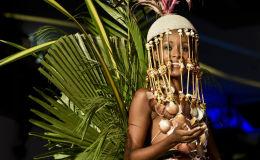 哥倫比亞卡利鎮生物時裝秀展示的「生態」作品。