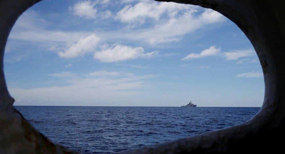 """特朗普政府新任国务卿表示,中国在南海地区的行动是""""无视国际法准则,非法处置争议领土"""""""