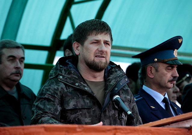 俄罗斯车臣共和国总统拉姆赞•卡德罗夫