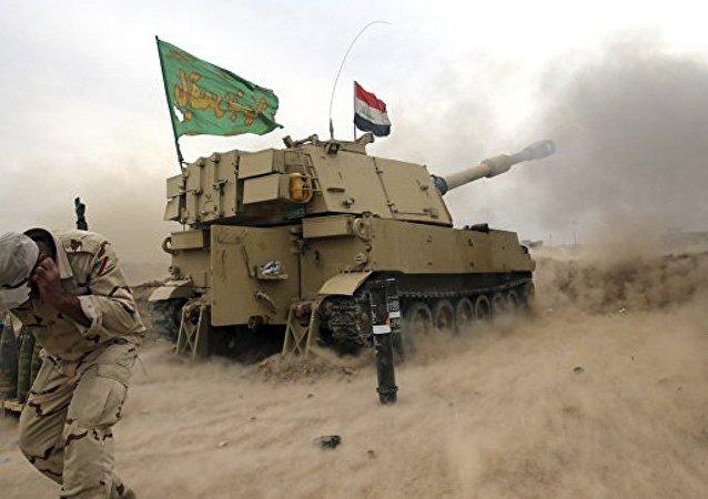 消息人士:伊拉克政府军准备包围摩苏尔古城恐怖分子
