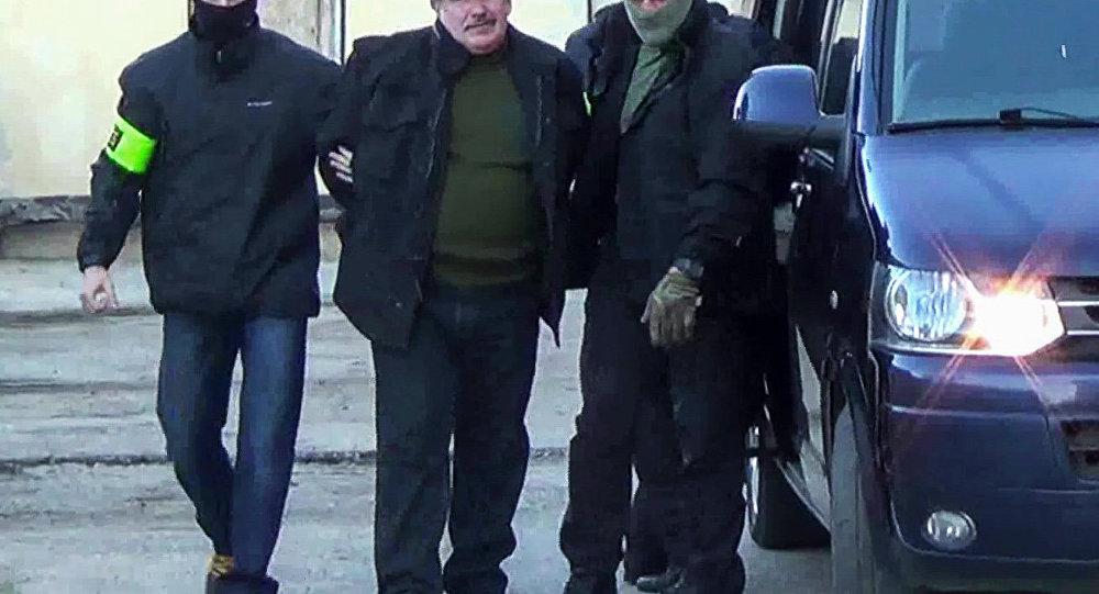 俄黑海舰队前军官因为乌从事间谍活动被捕