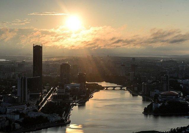 俄叶卡捷琳堡200米高烂尾电视塔将被爆破拆除