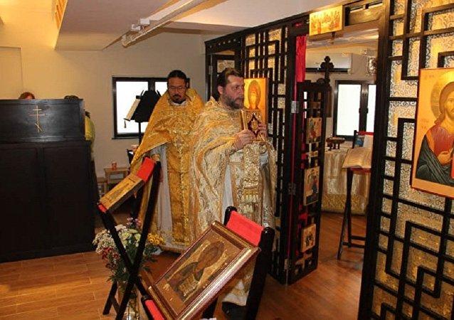 香港举办《东正教在中国》展览