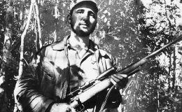 起義軍領袖菲德爾•卡斯特羅圖片