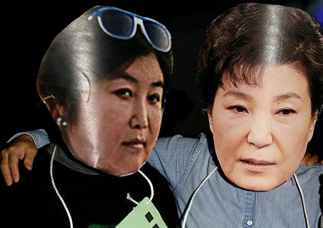 丑闻涉及韩国总统闺蜜