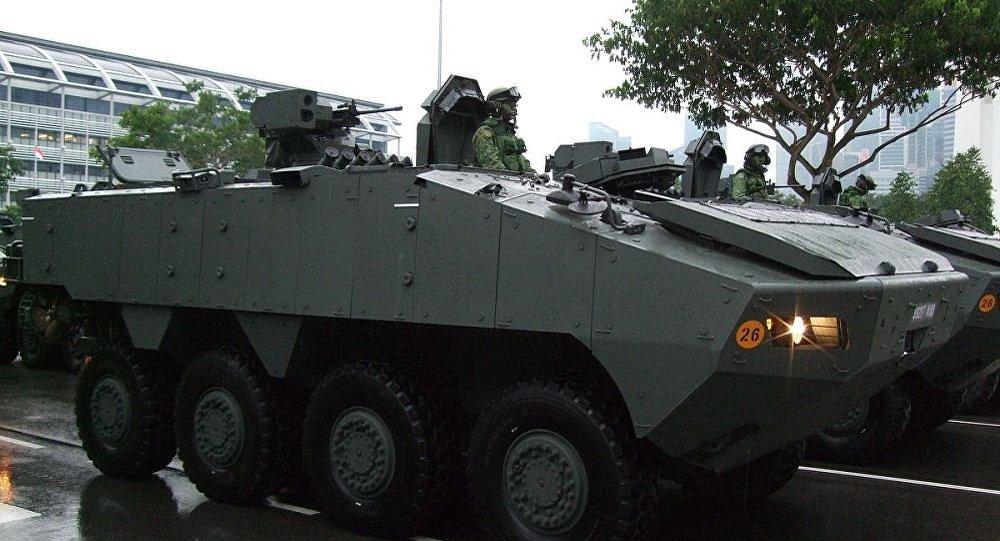 新加坡装甲车被扣或影响中新关系