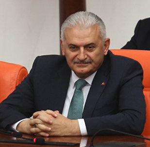土耳其总理比纳利·耶尔德勒姆