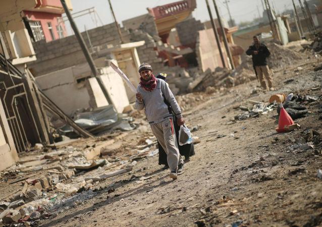 伊拉克军人:解放摩苏尔指日可待