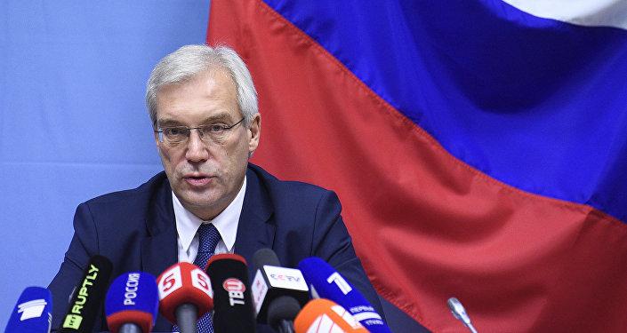 俄罗斯常驻北约代表亚历山大·格鲁什科