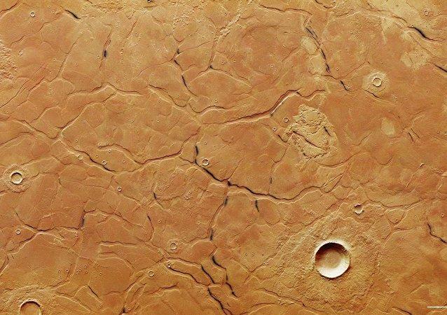 火星上发现一个神秘迷宫