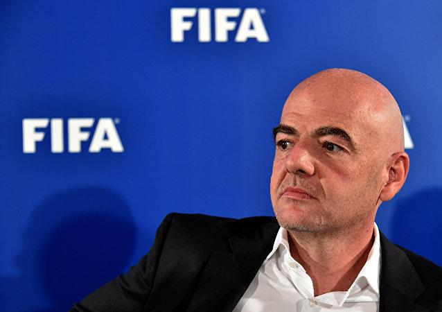 国际足联(FIFA)主席詹尼·因凡蒂诺
