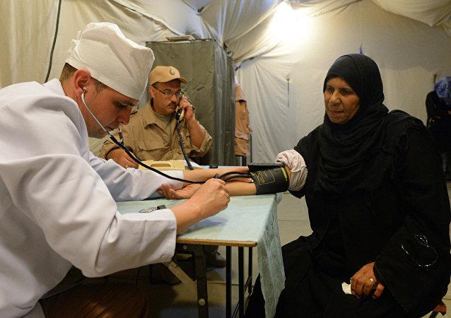 俄驻叙冲突各方调解中心为近8.6万名叙利亚人提供医疗服务