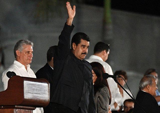 委内瑞拉总统:菲德尔•卡斯特罗完成使命以不败姿态离开世界