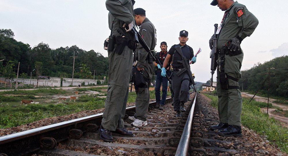 泰国警察员