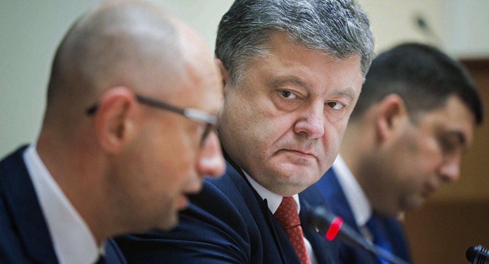 乌克兰前总理亚采纽克称波罗申科是其敌人