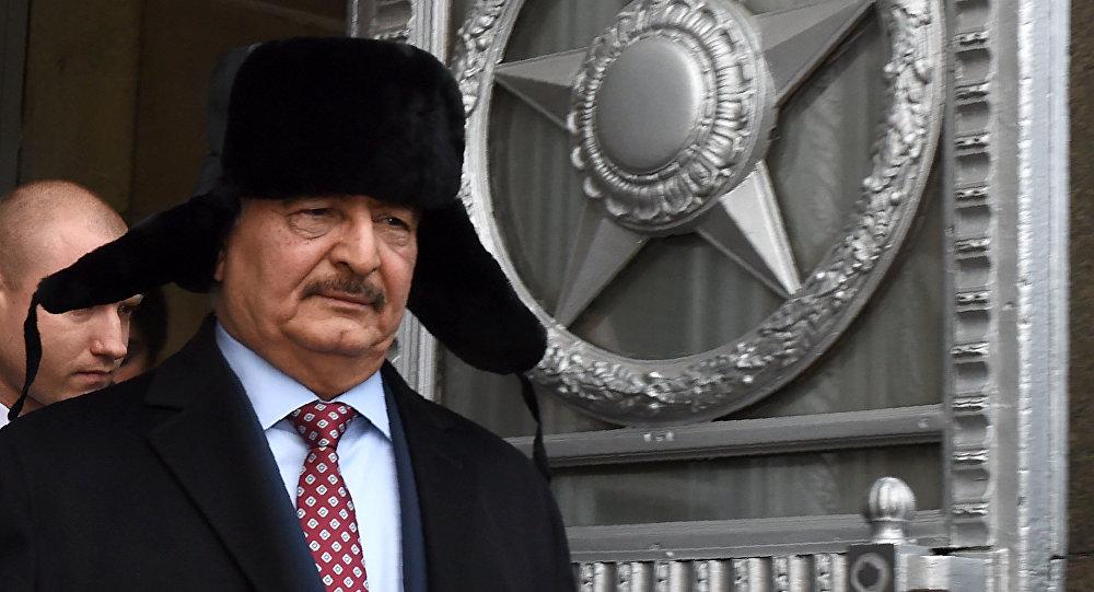 利比亚国民军司令哈利法·哈夫塔尔