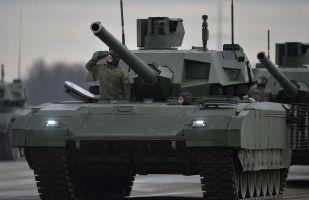 """俄为""""阿玛塔""""坦克穿上""""隐形大衣"""""""