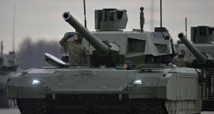 俄羅斯「阿瑪塔」坦克