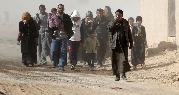 联合国:伊拉克摩苏尔军事行动致约16.1万人离开家园