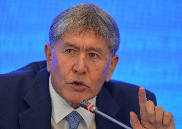 吉尔吉斯斯坦总统阿坦巴耶夫