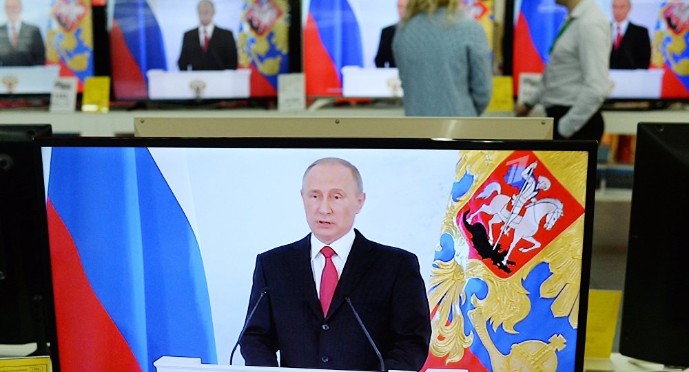 美国政府转播频道意外直播普京发言