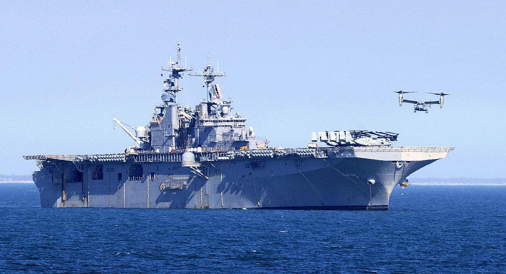黄蜂号两栖攻击舰