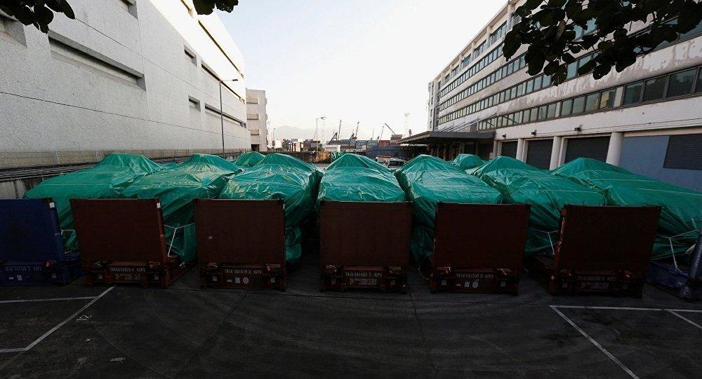 新加坡国防部:香港海关未就扣留新加坡装甲车做出解释