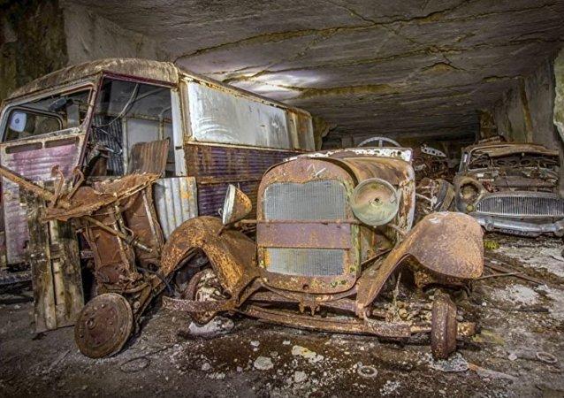 在法国找到德国人曾藏在地下的汽车仓库