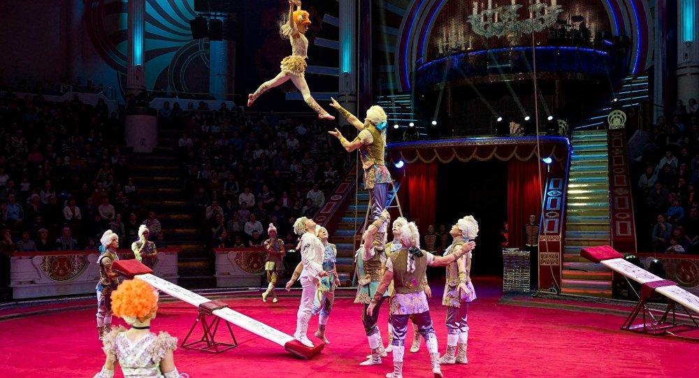 我们邀请珠海马戏艺术节评委,俄罗斯国家马戏团总经理德米特里