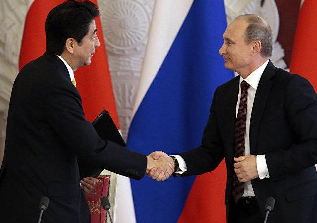 普京致函安倍:俄希望继续与日本构建伙伴关系