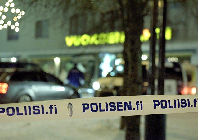 芬兰伊马特拉市发生枪击案  市长和两名记者被打死